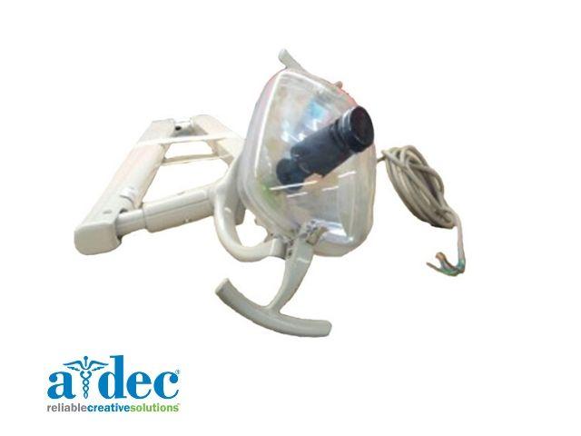 A-dec 6300 unit-mounted operating light