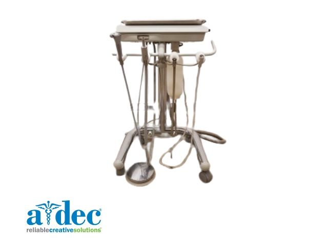 A-dec mobile delivery cart