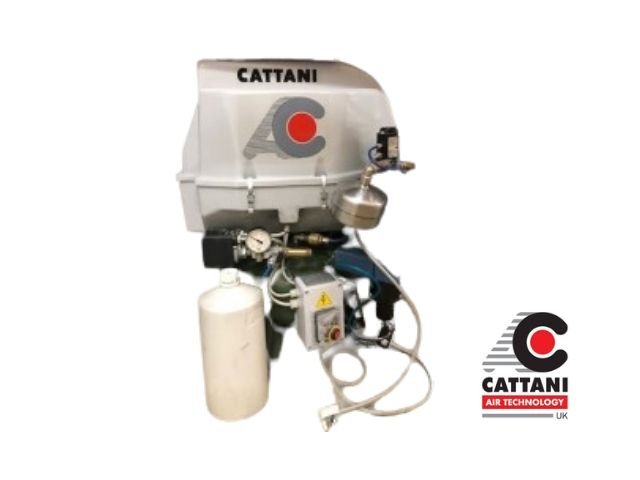 Cattani AC100Q Compressor with dryer and cover