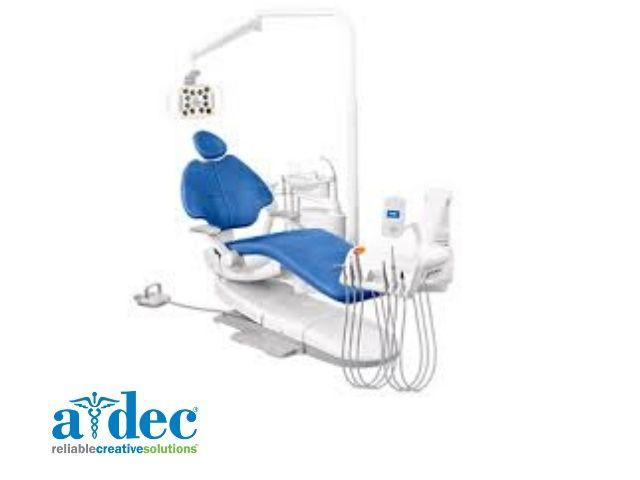 A-dec 500B (new style) ambidextrous Dental Chair Package